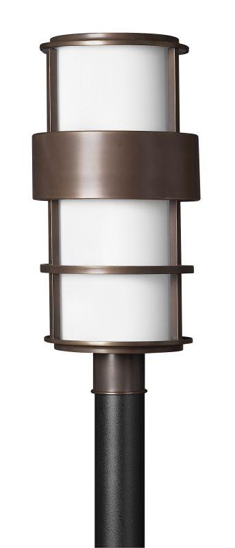 Hinkley Lighting 1901-GU24 1 Light Post Light from the Saturn