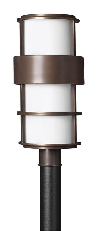 Hinkley Lighting 1901-LED 1 Light LED Post Light from the Saturn Sale $559.00 ITEM#: 2635022 MODEL# :1901MT-LED UPC#: 640665190328 :