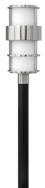 Hinkley Lighting 1901-LED 1 Light LED Post Light from the Saturn Sale $639.00 ITEM#: 2635024 MODEL# :1901SS-LED UPC#: 640665190335 :