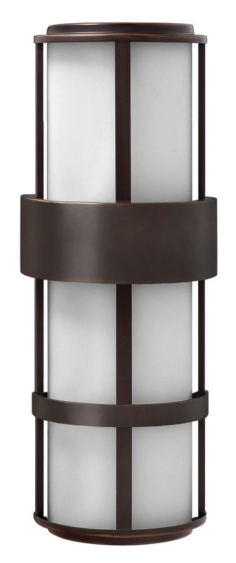"""Hinkley Lighting 1909-LED 2 Light 20.5"""" Height LED Outdoor Ambient"""