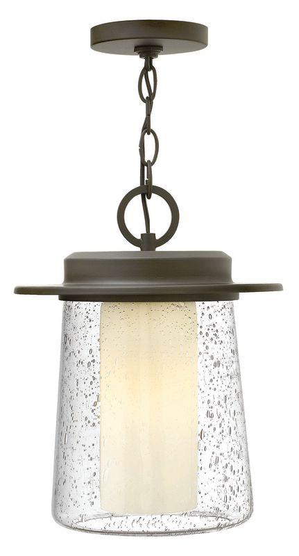 Hinkley Lighting 2012 1 Light Outdoor Lantern Pendant from the Riley Sale $289.00 ITEM#: 2361970 MODEL# :2012OZ UPC#: 640665202083 :