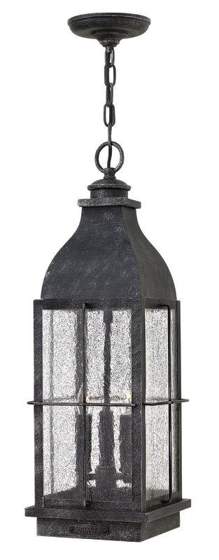 Hinkley Lighting 2042 3 Light Outdoor Lantern Pendant from the Bingham