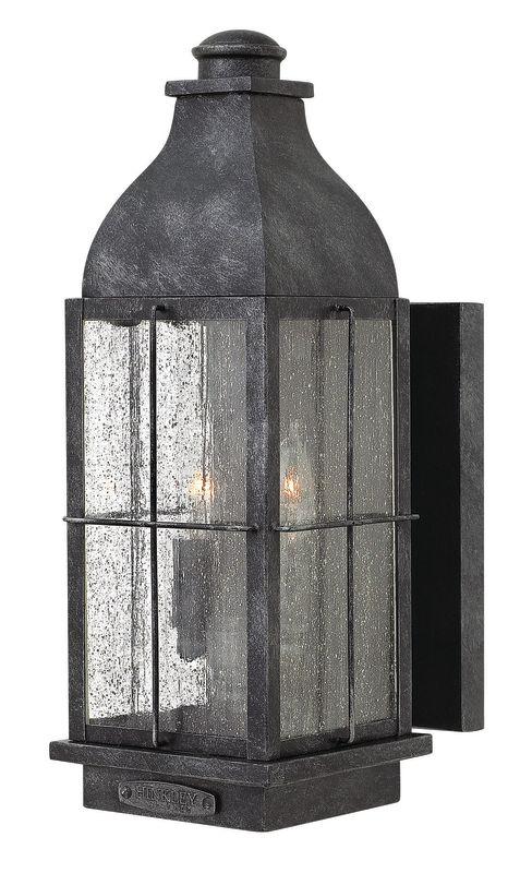 "Hinkley Lighting 2044 16"" Height 2 Light Lantern Outdoor Wall Sconce"