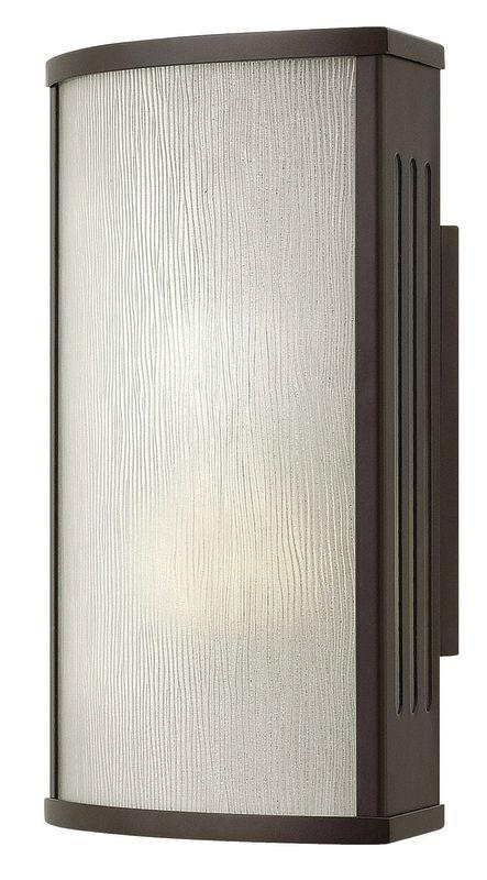 "Hinkley Lighting 2110-LED 1 Light 12"" Height LED Outdoor Ambient Wall Sale $309.00 ITEM#: 2635089 MODEL# :2110BZ-LED UPC#: 640665211047 :"