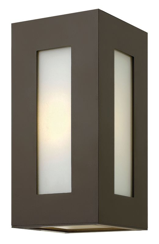 """Hinkley Lighting 2190-LED 2 Light 12.25"""" Height LED Outdoor Flush Sale $399.00 ITEM#: 2635102 MODEL# :2190BZ-LED UPC#: 640665219043 :"""