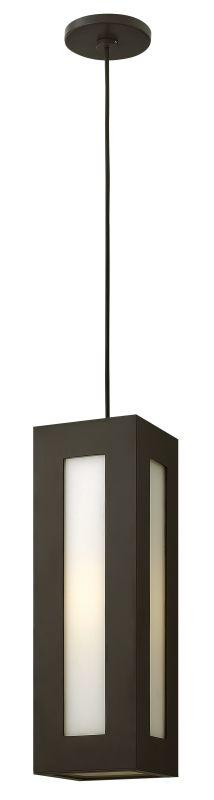 Hinkley Lighting 2192-GU24 1 Light Outdoor Small Pendant with
