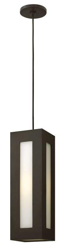 Hinkley Lighting 2192-LED 1 Light LED Outdoor Small Pendant from the Sale $489.00 ITEM#: 2635106 MODEL# :2192BZ-LED UPC#: 640665219241 :