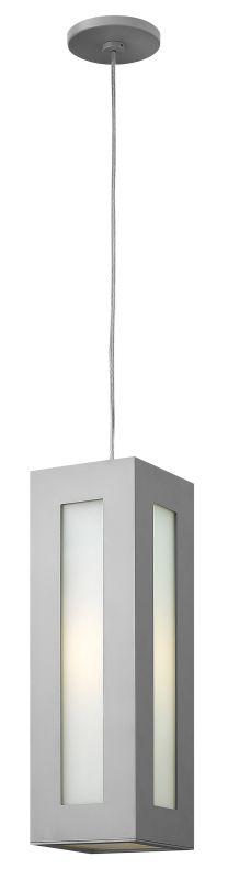 Hinkley Lighting 2192 1 Light Outdoor Small Pendant from the Dorian