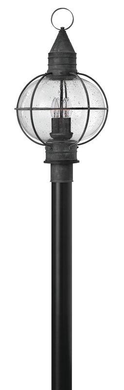 Hinkley Lighting 2201-LED 1 Light LED Post Light from the Cape Cod Sale $499.00 ITEM#: 2635112 MODEL# :2201DZ-LED UPC#: 640665220131 :