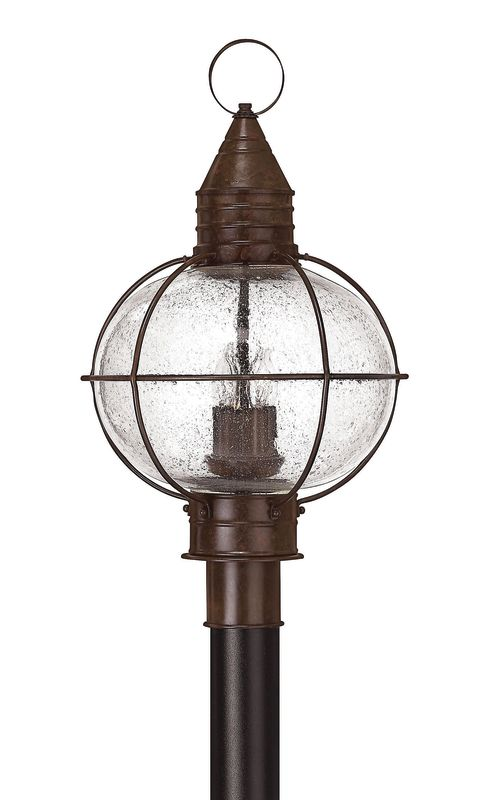 Hinkley Lighting 2201-LED 1 Light LED Post Light from the Cape Cod Sale $499.00 ITEM#: 2635113 MODEL# :2201SZ-LED UPC#: 640665220148 :