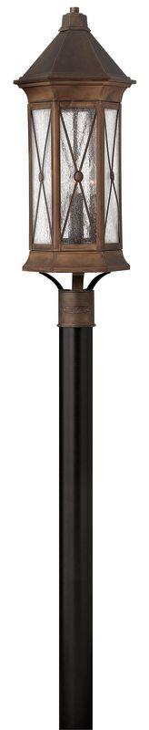 Hinkley Lighting 2297-LED 1 Light LED Post Light from the Brighton Sale $779.00 ITEM#: 2635125 MODEL# :2297SN-LED UPC#: 640665229714 :