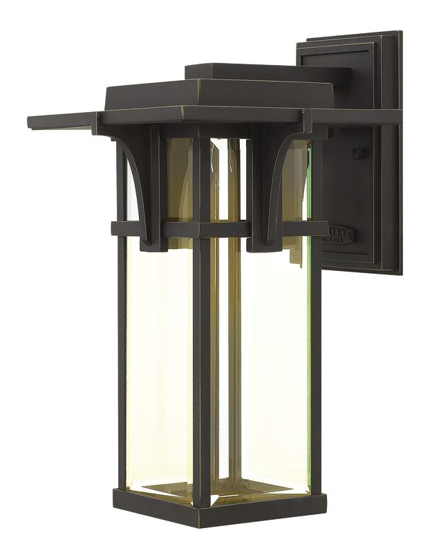 "Hinkley Lighting 2324-LED 15"" Height LED Outdoor Lantern Wall Sconce Sale $309.00 ITEM#: 2493649 MODEL# :2324OZ-LED UPC#: 640665232431 :"