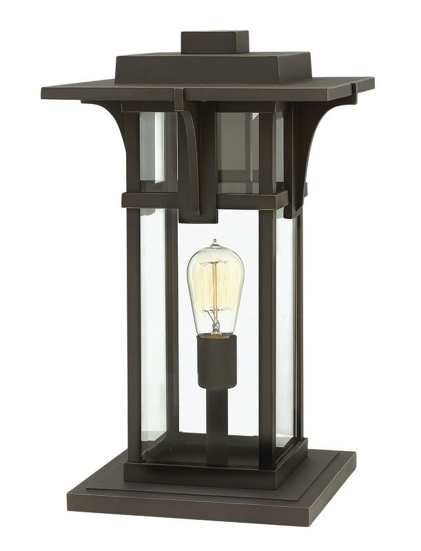 Hinkley Lighting 2327 1 Light Pier Mount Light from the Manhattan Sale $269.00 ITEM#: 2362025 MODEL# :2327OZ UPC#: 640665232707 :