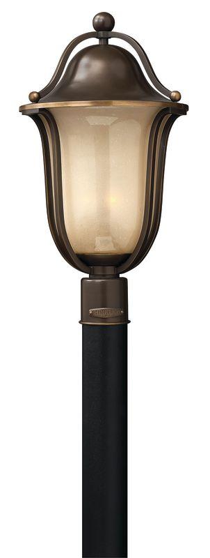 Hinkley Lighting 2631-LED 1 Light LED Post Light from the Bolla Sale $489.00 ITEM#: 2635148 MODEL# :2631OB-LED UPC#: 640665263190 :