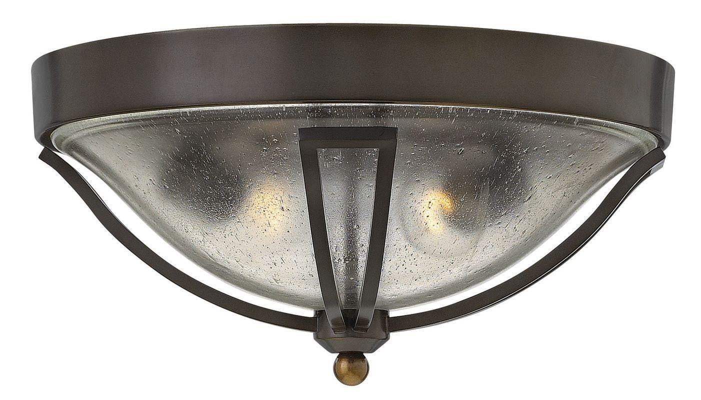 Hinkley Lighting 2643 2 Light Outdoor Flush Mount Ceiling Fixture from Sale $359.00 ITEM#: 2635159 MODEL# :2643OB UPC#: 640665264302 :