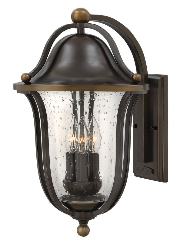 Hinkley Lighting 2645 3 Light Outdoor Lantern Wall Sconce from the