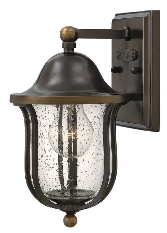 "Hinkley Lighting 2646 1 Light 11"" Height Outdoor Lantern Wall Sconce"