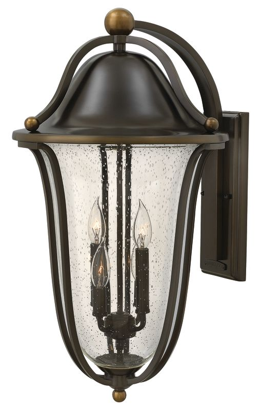 Hinkley Lighting 2649 4 Light Outdoor Lantern Wall Sconce from the Sale $829.00 ITEM#: 2628753 MODEL# :2649OB UPC#: 640665264906 :