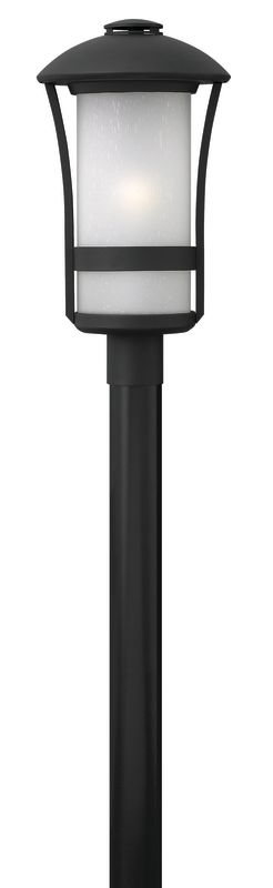 Hinkley Lighting 2701-LED 1 Light LED Post Light from the Chandler Sale $395.00 ITEM#: 2635165 MODEL# :2701BK-LED UPC#: 640665270150 :