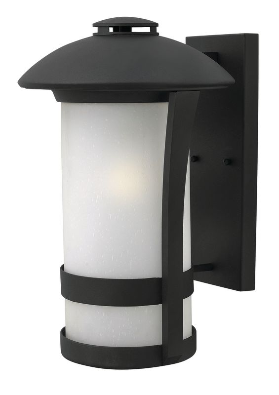 "Hinkley Lighting 2705 17.25"" Height 1 Light Lantern Outdoor Wall Sale $309.00 ITEM#: 2362050 MODEL# :2705BK UPC#: 640665270518 :"
