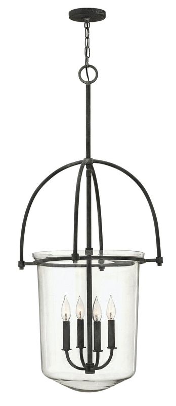 Hinkley Lighting 3034 4 Light Indoor Urn Pendant from the Clancy