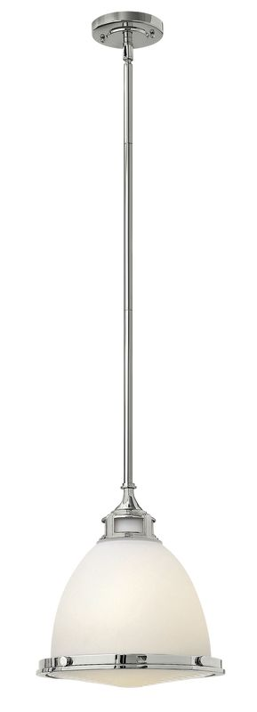 Hinkley Lighting 3124-LED 1 Light LED Full Sized Pendant with Etched