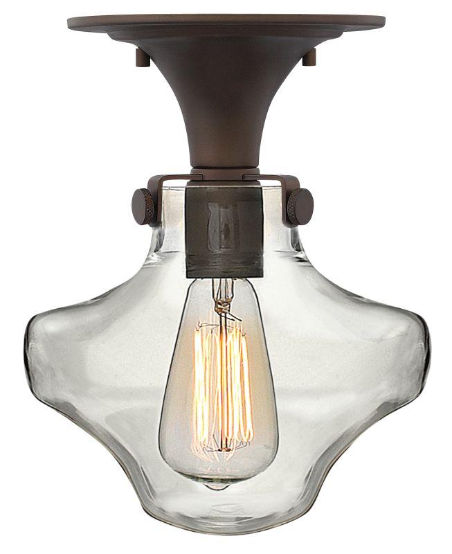 Hinkley Lighting 3150 1 Light Indoor Semi-Flush Ceiling Fixture with
