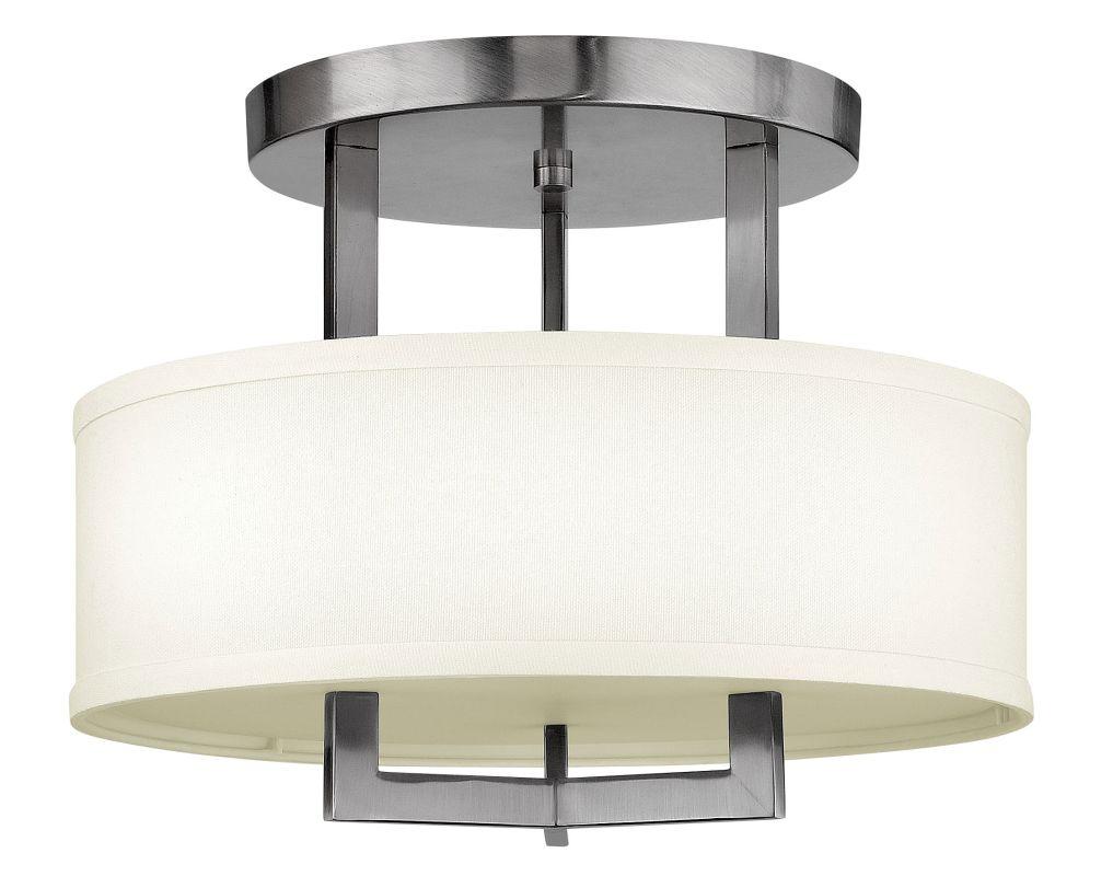 """Hinkley Lighting 3200-LED 1 Light 15"""" Width LED Semi-Flush Ceiling Sale $579.00 ITEM#: 2233883 MODEL# :3200AN-LED UPC#: 640665320022 :"""