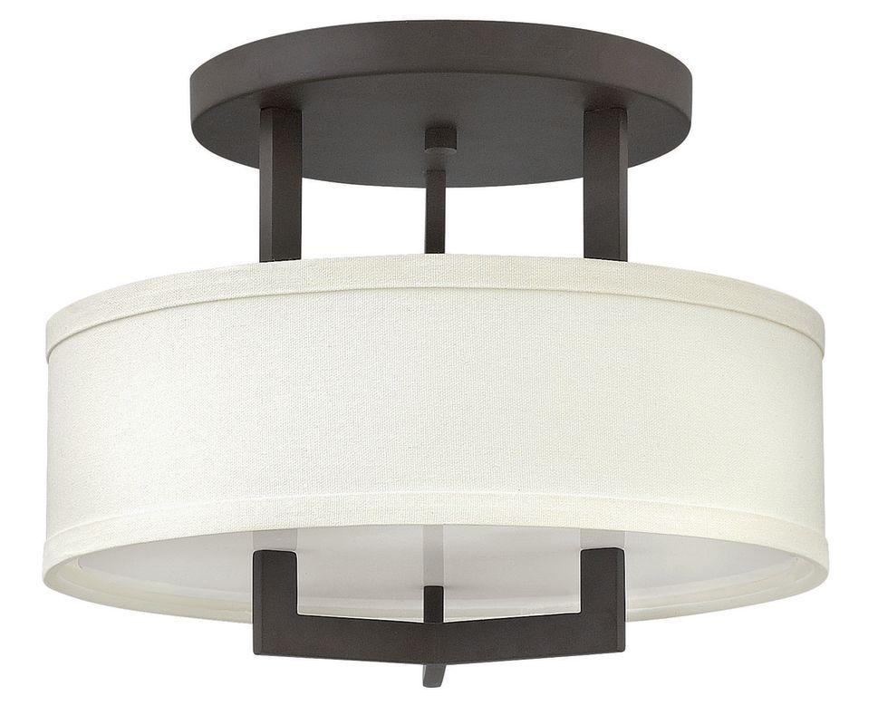 """Hinkley Lighting 3200-LED 1 Light 15"""" Width LED Semi-Flush Ceiling Sale $579.00 ITEM#: 2635732 MODEL# :3200KZ-LED UPC#: 640665320190 :"""