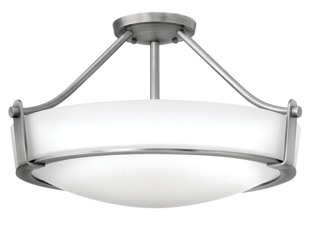 Hinkley Lighting 3221-GU24 4 Light Title 24 Fluorescent Semi-Flush Sale $409.00 ITEM#: 2635789 MODEL# :3221AN-GU24 UPC#: 640665322149 :