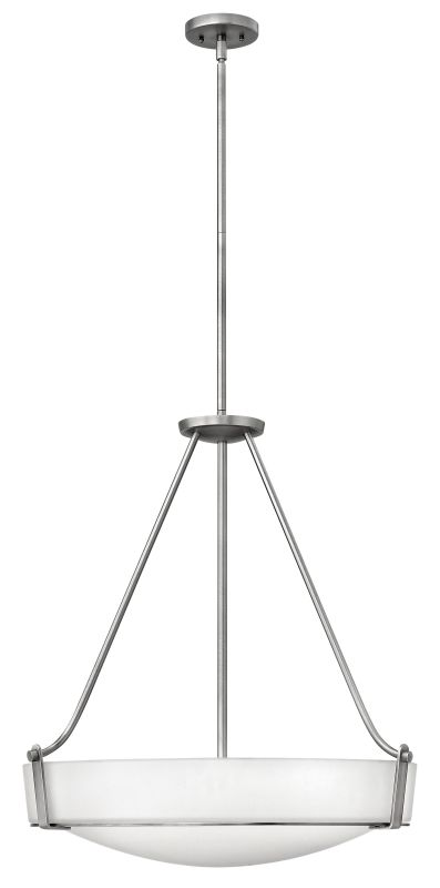Hinkley Lighting 3224-LED 1 Light LED Large Foyer Pendant from the Sale $969.00 ITEM#: 2233901 MODEL# :3224AN-LED UPC#: 640665322422 :