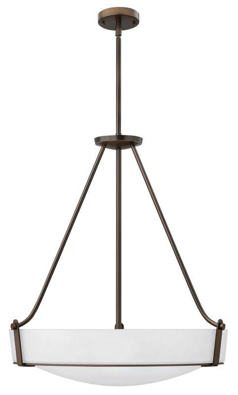 Hinkley Lighting 3224-LED 1 Light LED Large Foyer Pendant from the Sale $969.00 ITEM#: 2635206 MODEL# :3224OB-WH-LED UPC#: 640665322583 :