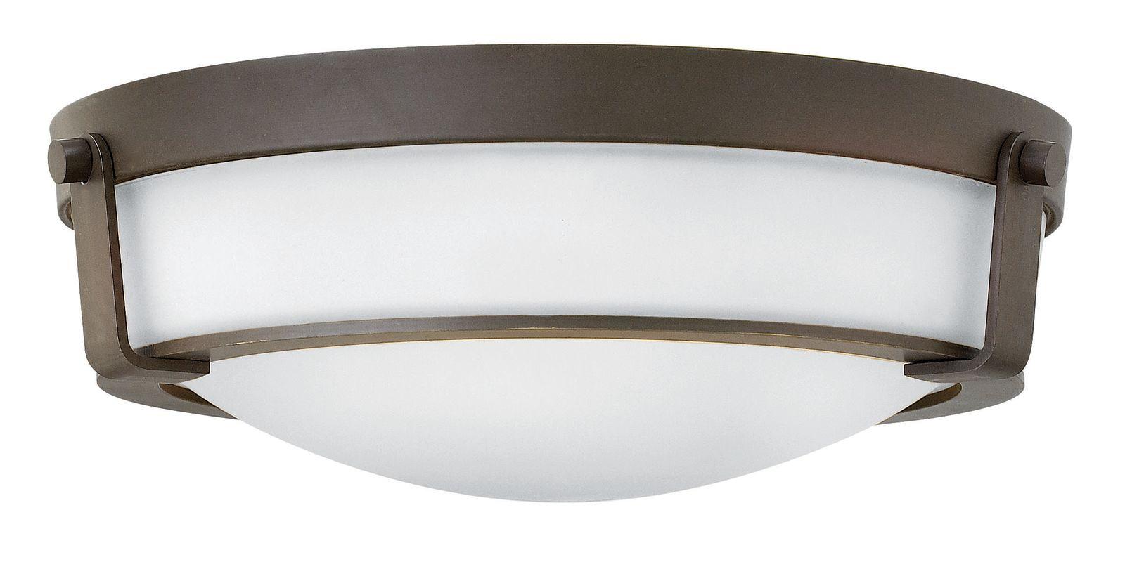 Hinkley Lighting 3225 3 Light Flush Mount Ceiling Fixture from the Sale $279.00 ITEM#: 2635211 MODEL# :3225OB-WH UPC#: 640665322590 :