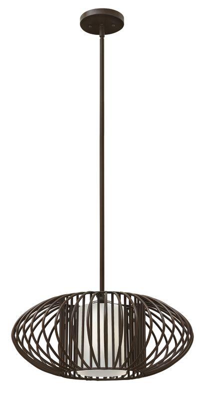 Hinkley Lighting 32557-LED 1 Light LED Full Sized Pendant from the Sale $569.00 ITEM#: 2635236 MODEL# :32557VBZ-LED UPC#: 640665325591 :