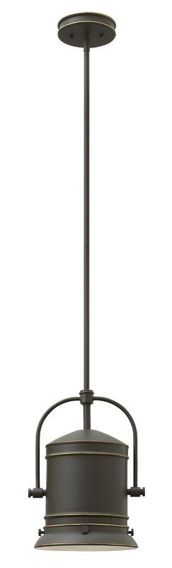 Hinkley Lighting 3257-LED 1 Light LED Mini Pendant from the Pullman Sale $389.00 ITEM#: 2635242 MODEL# :3257OZ-LED UPC#: 640665325782 :
