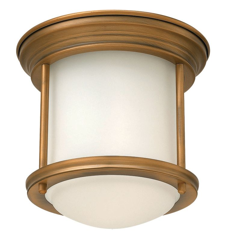 Hinkley Lighting 3300 1 Light Indoor Flush Mount Ceiling Fixture from Sale $99.00 ITEM#: 2362128 MODEL# :3300BR UPC#: 640665330014 :