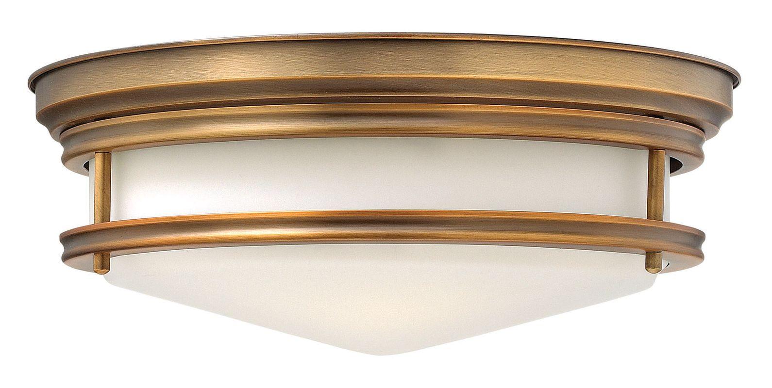 Hinkley Lighting 3301-GU24 3 Light Title 24 Fluorescent Flush Mount Sale $269.00 ITEM#: 2635250 MODEL# :3301BR-GU24 UPC#: 640665330304 :