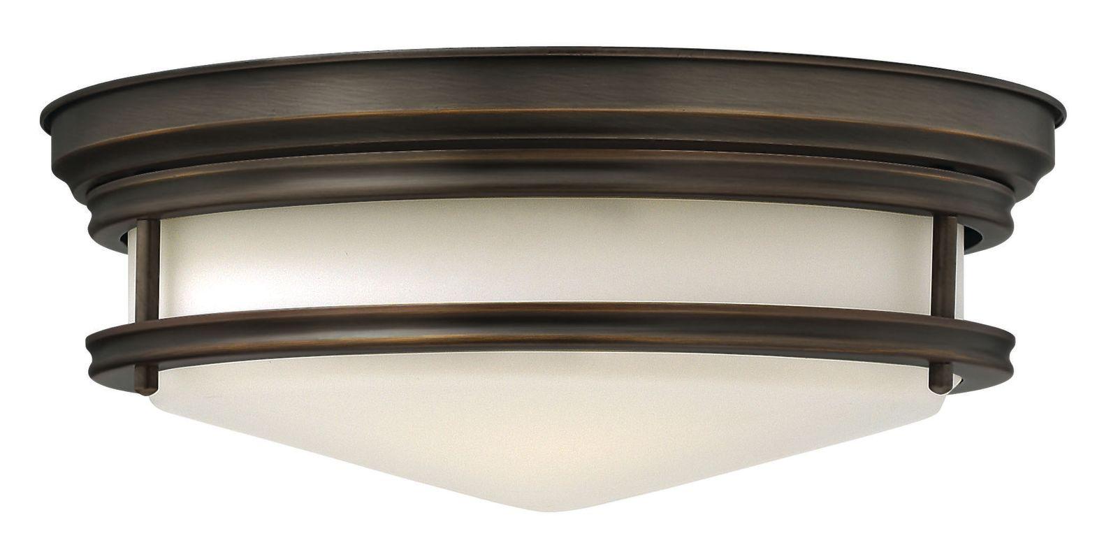Hinkley Lighting 3301-GU24 3 Light Title 24 Fluorescent Flush Mount Sale $269.00 ITEM#: 2635252 MODEL# :3301OZ-GU24 UPC#: 640665330342 :
