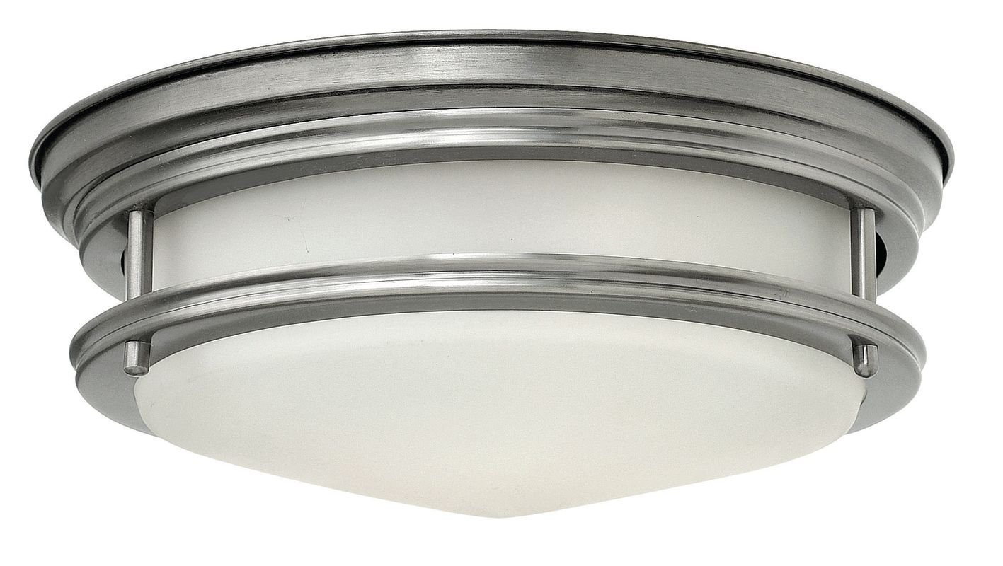 Hinkley Lighting 3302-GU24 2 Light Title 24 Fluorescent Flush Mount