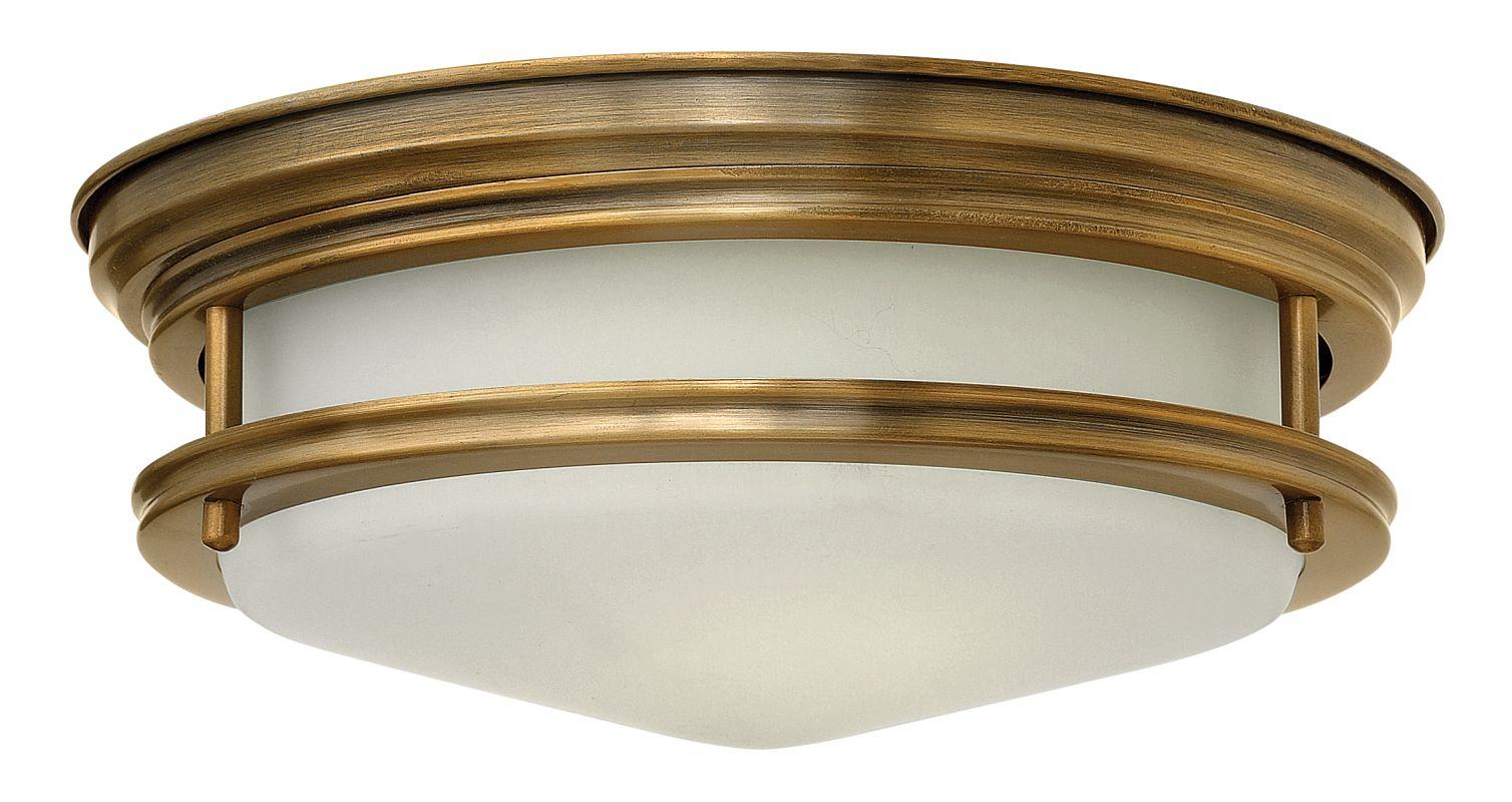 Hinkley Lighting 3302 2 Light Indoor Flush Mount Ceiling Fixture from Sale $169.00 ITEM#: 2173164 MODEL# :3302BR UPC#: 640665330212 :