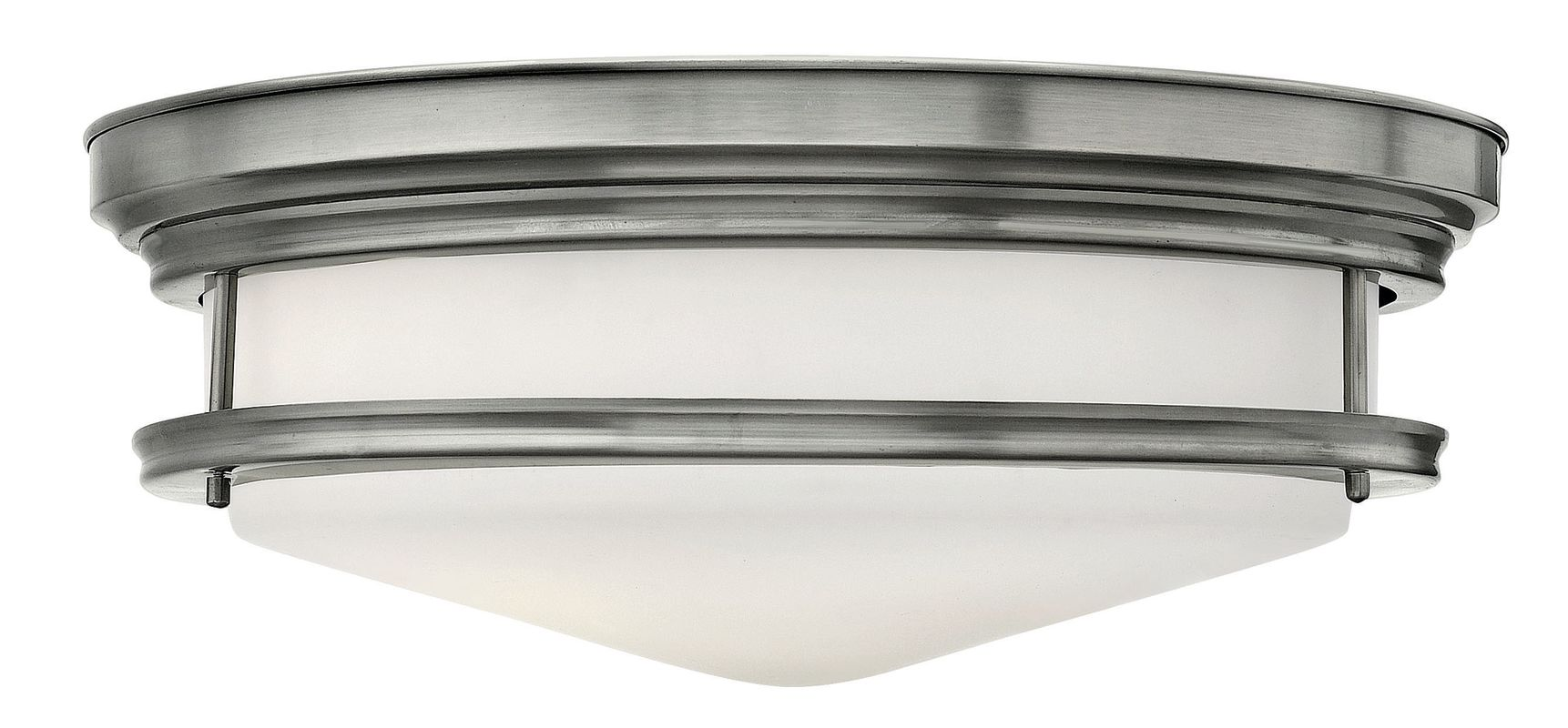 Hinkley Lighting 3304-GU24 4 Light Title 24 Fluorescent Flush Mount Sale $489.00 ITEM#: 2635257 MODEL# :3304AN-GU24 UPC#: 640665330601 :