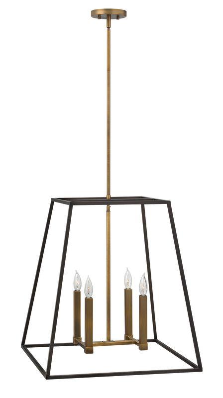 "Hinkley Lighting 3336 4 Light 24.5"" Height Indoor Lantern Pendant from"