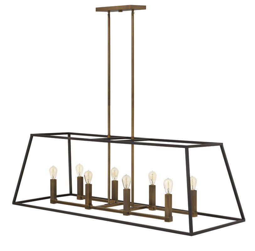 Hinkley Lighting 3338 8 Light Indoor Full Sized Chandelier from the