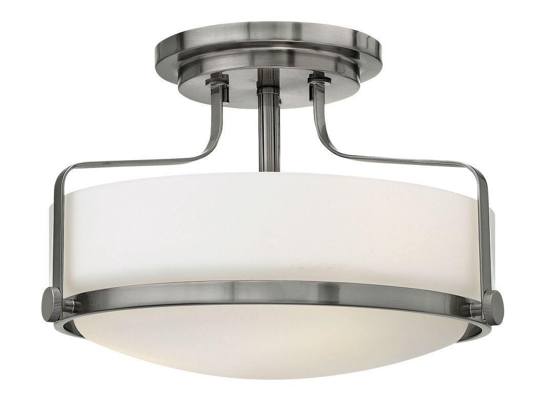 Hinkley Lighting 3641-GU24 3 Light Title 24 Fluorescent Semi-Flush Sale $289.00 ITEM#: 2635314 MODEL# :3641BN-GU24 UPC#: 640665364163 :