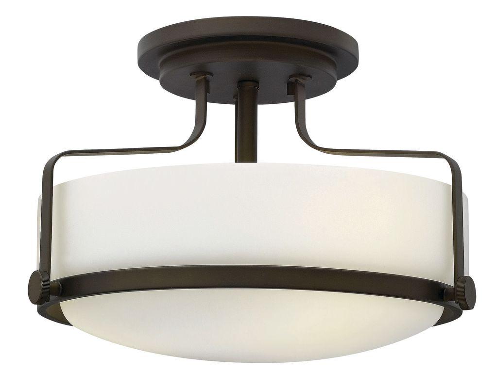 Hinkley Lighting 3641-GU24 3 Light Title 24 Fluorescent Semi-Flush Sale $289.00 ITEM#: 2635316 MODEL# :3641OZ-GU24 UPC#: 640665364200 :