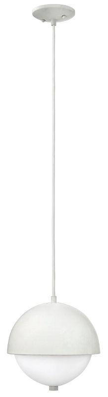 Hinkley Lighting 38510-GU24 2 Light Single Mini Pendant with White Sale $219.00 ITEM#: 2635338 MODEL# :38510CLD-GU24 UPC#: 640665385151 :