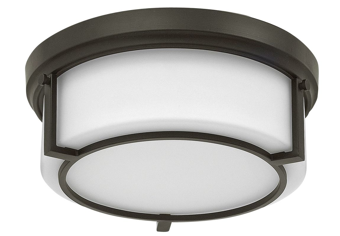 Hinkley Lighting 3971 2 Light Flush Mount Ceiling Fixture with Frosted