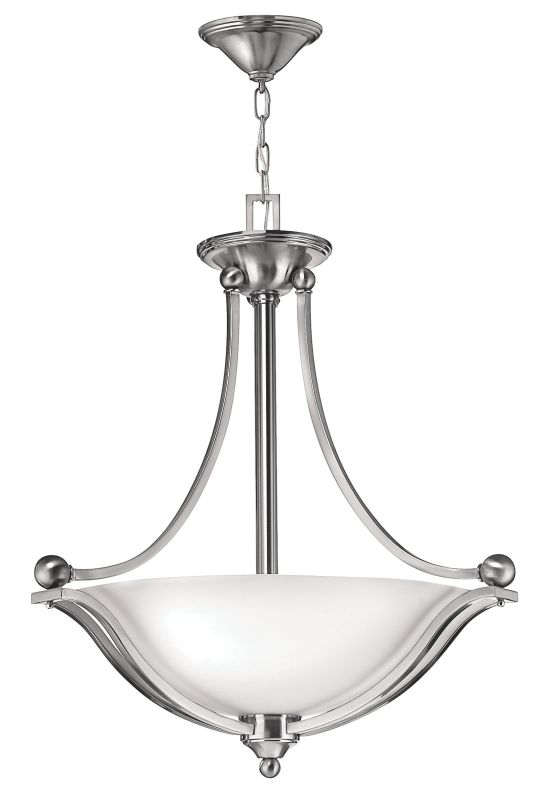 Hinkley Lighting 4652-LED 1 Light LED Large Foyer Pendant from the Sale $739.00 ITEM#: 2233953 MODEL# :4652BN-LED UPC#: 640665465235 :