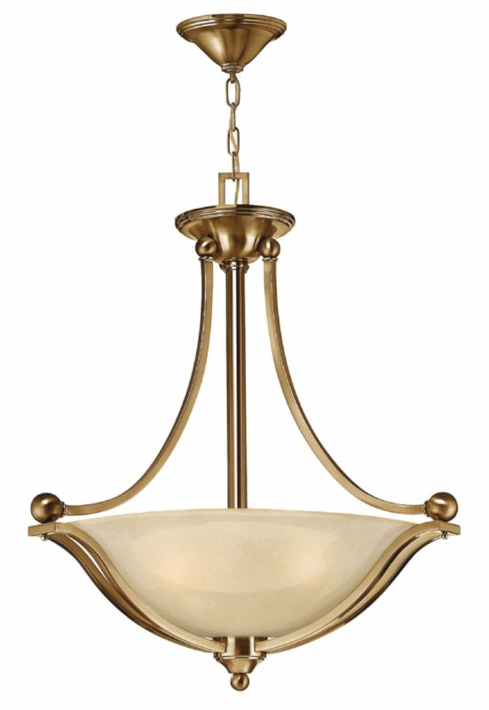 Hinkley Lighting 4652-LED 1 Light LED Large Foyer Pendant from the Sale $739.00 ITEM#: 2233954 MODEL# :4652BR-LED UPC#: 640665465242 :