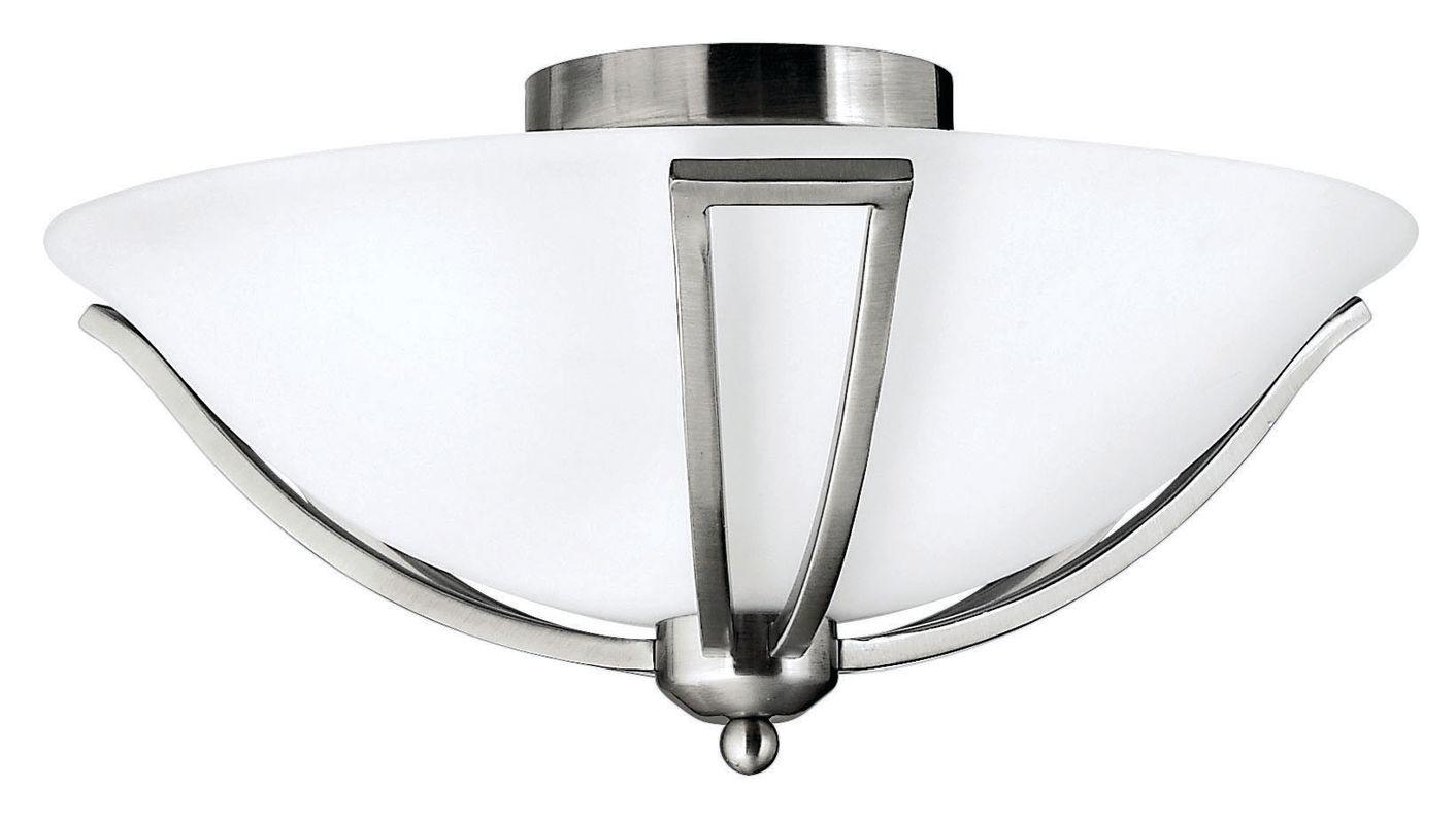 Hinkley Lighting 4660-GU24 2 Light Title 24 Fluorescent Semi-Flush Sale $229.00 ITEM#: 2635415 MODEL# :4660BN-GU24 UPC#: 640665466089 :